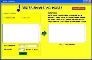 Gambar MorseTranslator 1.0.1